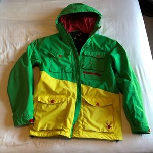 Men's Large Spyder Snowboard Ski Jacket